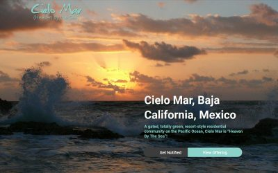 Launch of the Cielo Mar Website