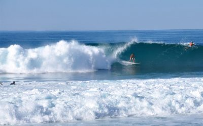 Surfing Baja California